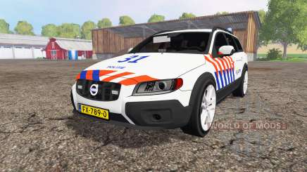 Volvo XC70 D5 Politie для Farming Simulator 2015