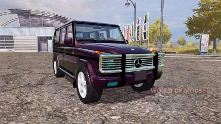 Mercedes-Benz G500 (W463) для Farming Simulator 2013