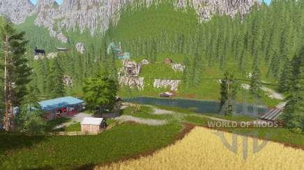 Goldcrest mountains v2.5 для Farming Simulator 2017