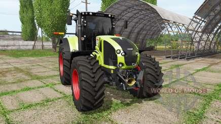 CLAAS Axion 920 для Farming Simulator 2017
