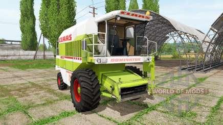 CLAAS Dominator 118 SL для Farming Simulator 2017
