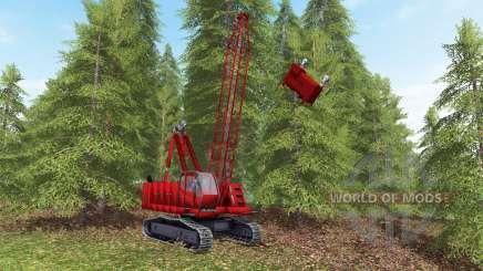 Skyline yarder для Farming Simulator 2017