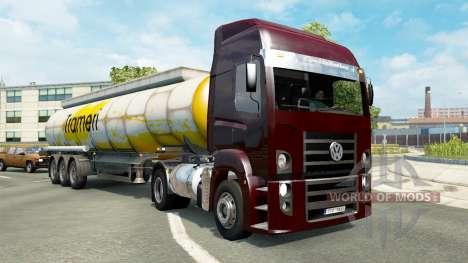 Brazilian traffic v1.3.2 для Euro Truck Simulator 2