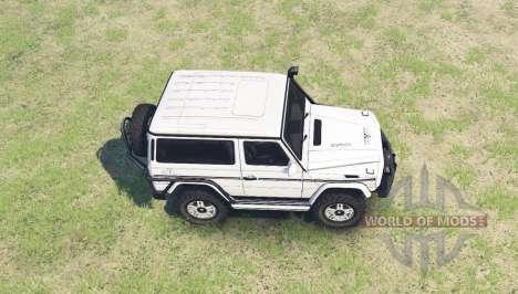 Mercedes-Benz G 500 SWB (W463) для Spin Tires