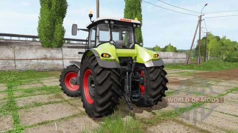 CLAAS Axion 830 v2.0 для Farming Simulator 2017