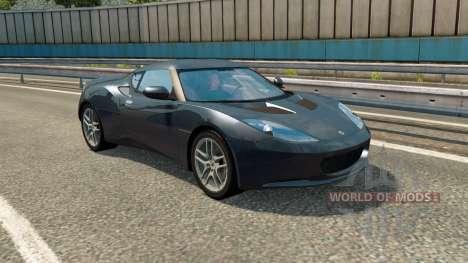 Cars Test Drive Unlimited 2 in traffic v1.1 для Euro Truck Simulator 2