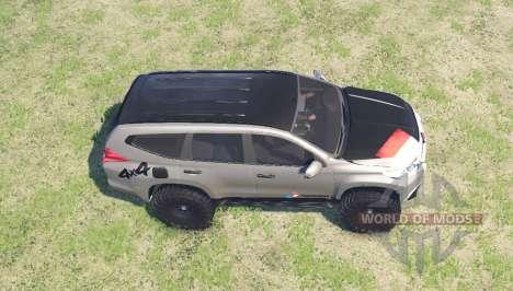 Mitsubishi Pajero Sport для Spin Tires