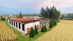 Baltic village для Farming Simulator 2015
