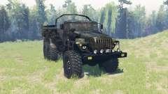 Урал 4320 армейский v3.4 для Spin Tires