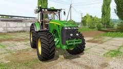 John Deere 8530 v4.0 для Farming Simulator 2017