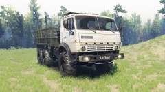 КамАЗ 43102 для Spin Tires