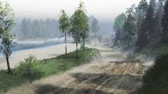 Пыль дорог для Spin Tires