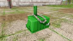 Weight John Deere для Farming Simulator 2017