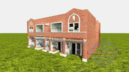 Golson Music building для Farming Simulator 2015