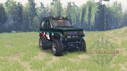 Toyota Land Cruiser 70 для Spin Tires