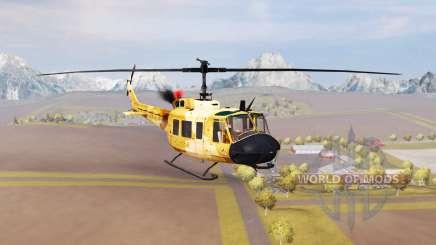 Bell UH-1D agrar v2.0 для Farming Simulator 2013