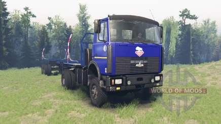 МАЗ 5434 v4.0 для Spin Tires