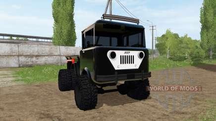 Jeep FC-170 для Farming Simulator 2017