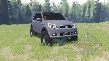 Toyota Rush для Spin Tires