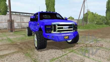 Ford F-350 king ranch для Farming Simulator 2017