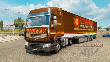 Painted truck traffic pack v2.2.2 для Euro Truck Simulator 2