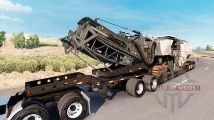 Fontaine Magnitude 55L Wirtgen для American Truck Simulator