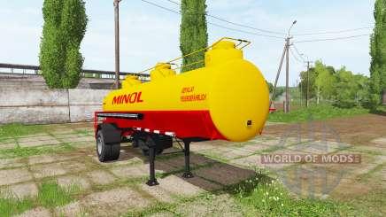 Fuel tank semitrailer для Farming Simulator 2017