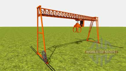 Bridge crane для Farming Simulator 2015