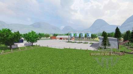 Allgau v1.1 для Farming Simulator 2013