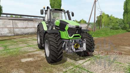 Deutz-Fahr 9290 TTV chip tuning v1.0.0.2 для Farming Simulator 2017