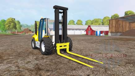 Caterpillar forklift для Farming Simulator 2015