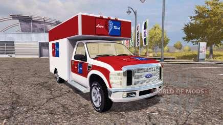 Ford F-250 cargo для Farming Simulator 2013