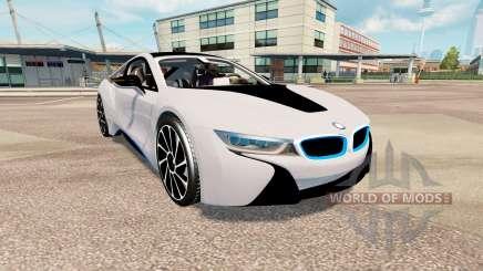 BMW i8 (I12) v2.0 для Euro Truck Simulator 2