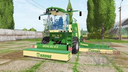 Krone BiG M II v1.1 для Farming Simulator 2017