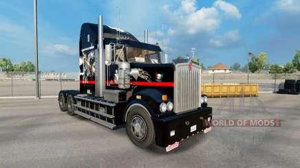 Скин Big Mama Tattoo на тягач Kenworth T908 для American Truck Simulator
