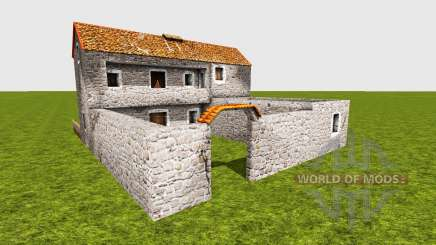 Medieval greek house для Farming Simulator 2015