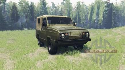 УАЗ 3907 Ягуар для Spin Tires