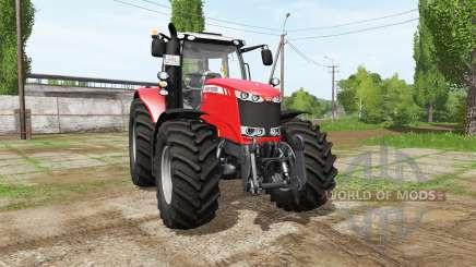 Massey Ferguson 7724 v1.1 для Farming Simulator 2017