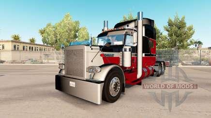 Скин GP custom на тягач Peterbilt 389 для American Truck Simulator