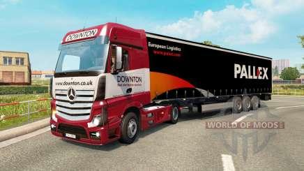 Painted truck traffic pack v2.3 для Euro Truck Simulator 2