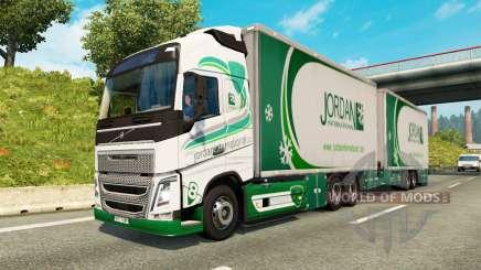 Tandem truck traffic v1.1.1 для Euro Truck Simulator 2