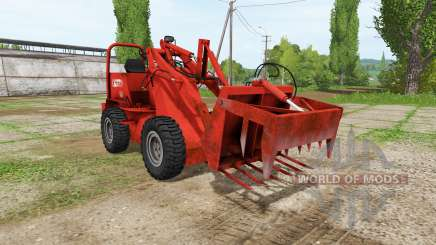 Weidemann 1502DR v2.0 для Farming Simulator 2017