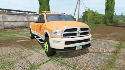 Dodge Ram 3500 v1.2 для Farming Simulator 2017