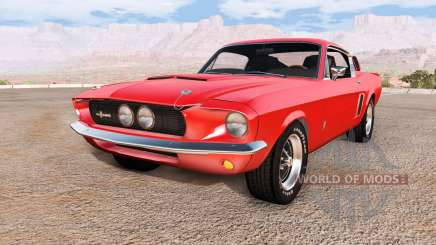 Ford Mustang Shelby GT500 для BeamNG Drive