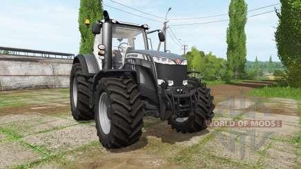 Massey Ferguson 8737 black edition для Farming Simulator 2017