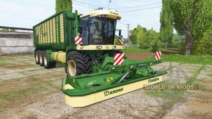 Krone BiG L 550 Prototype v1.0.0.2 для Farming Simulator 2017