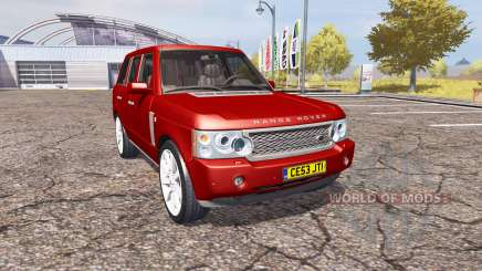 Land Rover Range Rover Supercharged 2009 v2.0 для Farming Simulator 2013