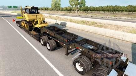 Fontaine Magnitude 55L Komatsu для American Truck Simulator