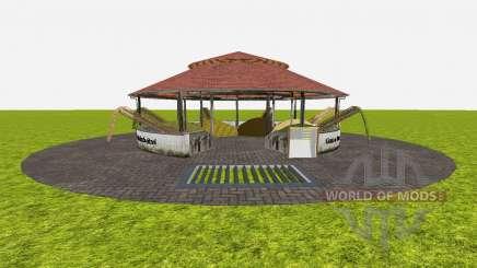Feed stores around v1.2 для Farming Simulator 2015