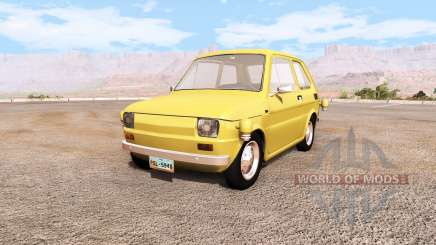 Fiat 126p flying v0.1 для BeamNG Drive